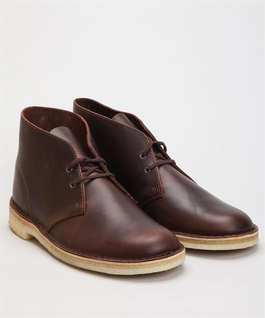 Clarks Originals Desert Boot Chestnut Leather Shoes Shoes Online Lester Store