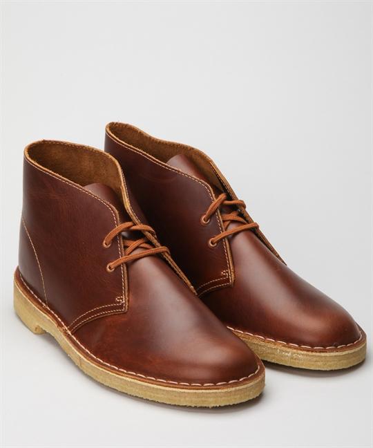 Clarks Originals Desert Boot Tan Leather Skor Skor