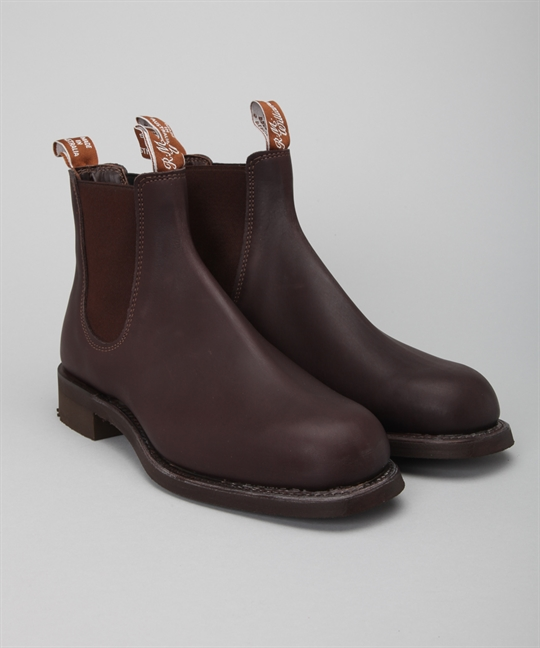 R M Williams Gardener Brown Greasy Kip Shoes Shoes