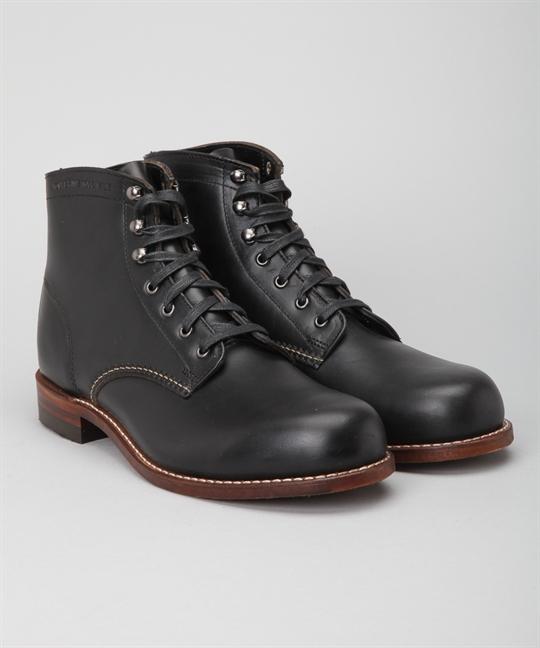 Wolverine 1000 Mile Boots Black Shoes Shoes Online