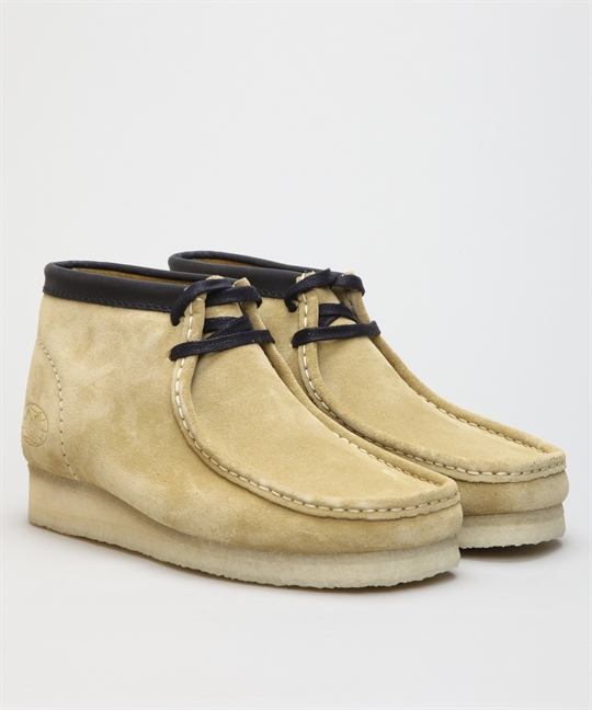 Clarks Originals X Wu Tang Clan Wallabee Wu Wear Maple Suede
