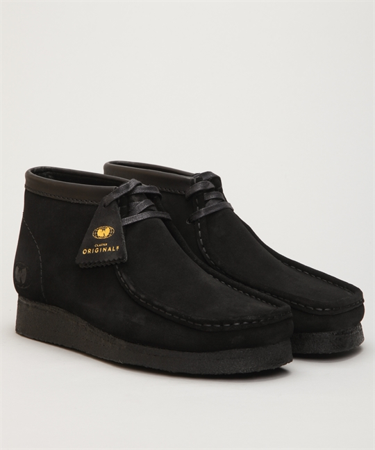 Clarks Originals X Wu Tang Clan Wallabee Wu Wear Black Suede