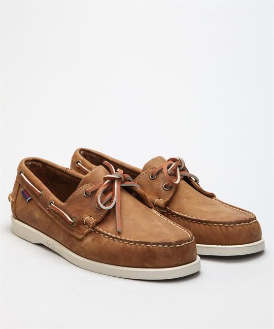 Sebago Docksides-Brown Tan Shoes