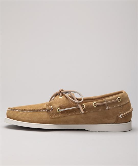 Sebago Docksides Sand Suede B72763 shoes Shoes Online Lester Store