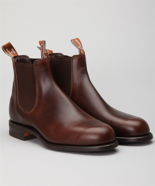 R M Williams Wentworth Rum Yearling Shoes Shoes Online