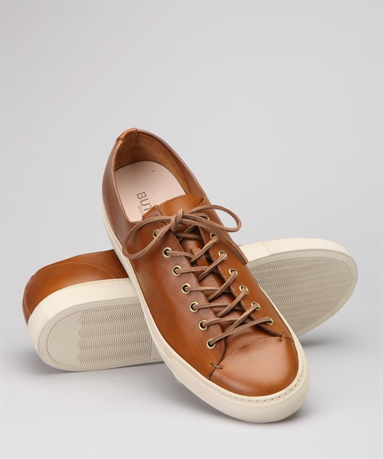 9b4044fea Buttero Tanino Low B4006 Brown Leather Shoes - Shoes Online - Lester Store
