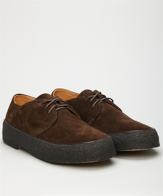 Original Scandinavian Playboy Shoes Brown Suede Shoes