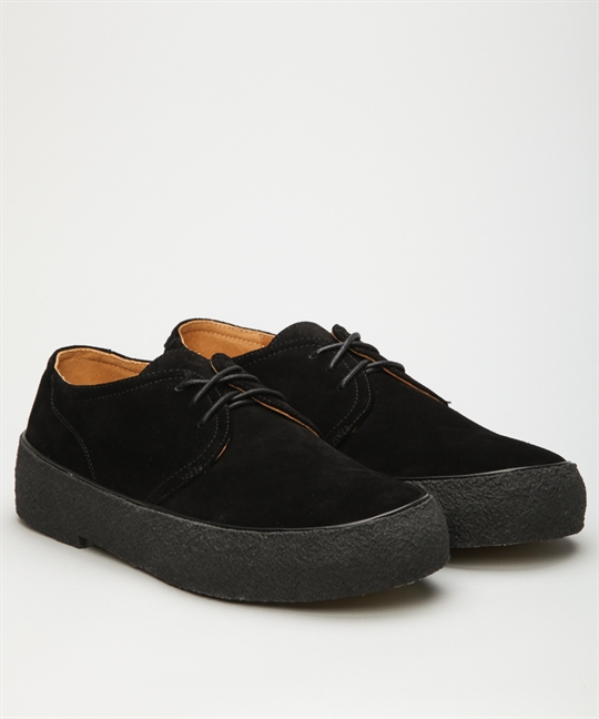 Original Playboy Shoes Black Suede Shoes Online Lester