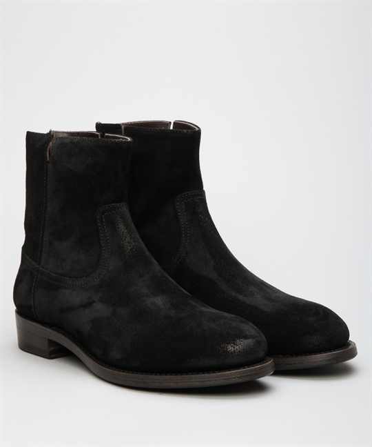Project Twlv Flame Black Suede Shoes Shoes Online