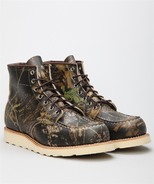 Red Wing Shoes 6 Classic Work Moc Toe 8884-Camouflage Shoes ...