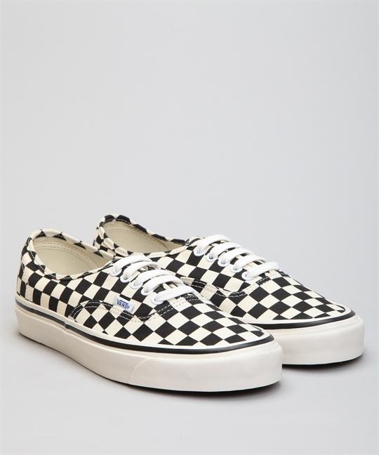 Vans Authentic (Anaheim Factory) 44 DX BlackCheckered Shoes Shoes Online Lester Store