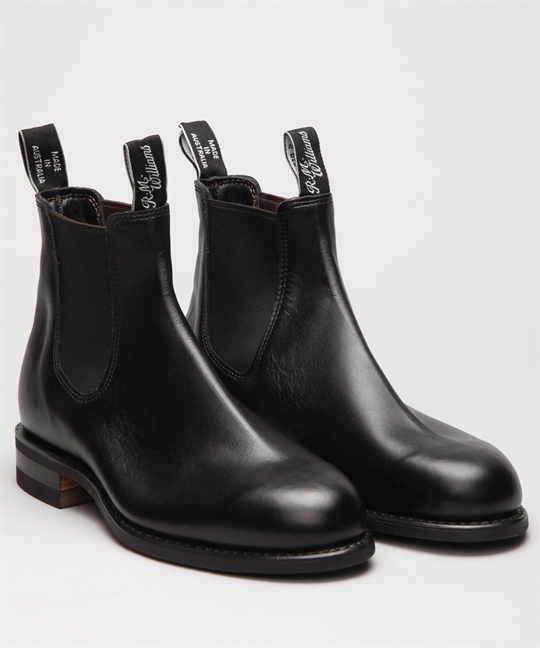 R.M. Williams Wentworth Black Yearling Shoes Shoes Online Lester Store