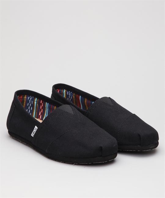 eb560309657 Toms Classic Canvas-Black Shoes - Shoes Online - Lester Store