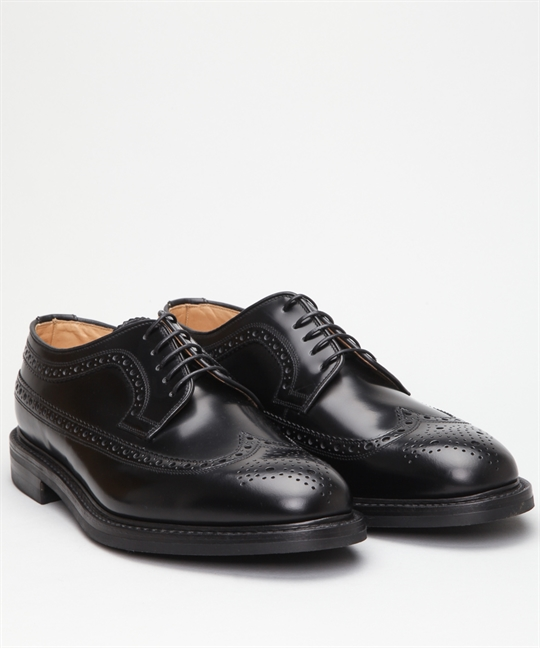 Loake Sovereign-Black Shoes - Shoes