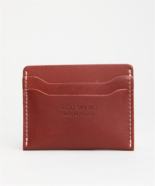 Red Wing Shoes Card Holder Oro Russet 95011