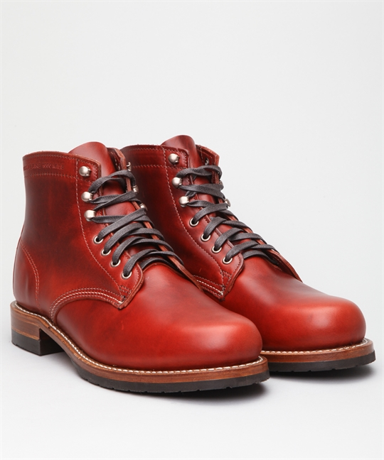 Wolverine Heritage Collection Evans Red Shoes Shoes