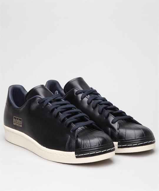 Adidas superstar degli anni '80, pulito le scarpe nere cq2171 online