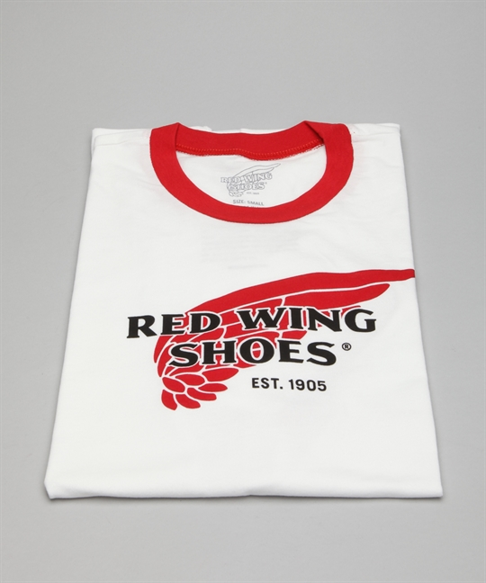Red Wing Shoes T Shirt 97406 White Red Shoes Shoes Online
