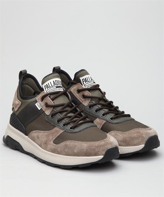 f35dd498798 Palladium Axeon Army Runner-Brown/Black Shoes - Shoes Online ...