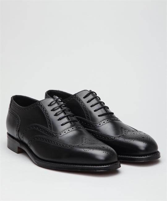 15c654ff49fa Loake Buckingham-Black Shoes - Shoes Online - Lester Store