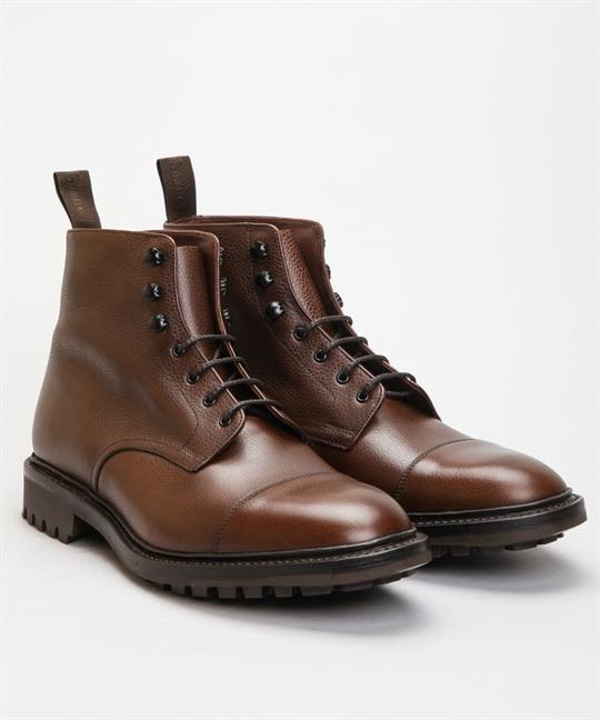Loake Sedbergh Brown Grain Calf Shoes Shoes Online