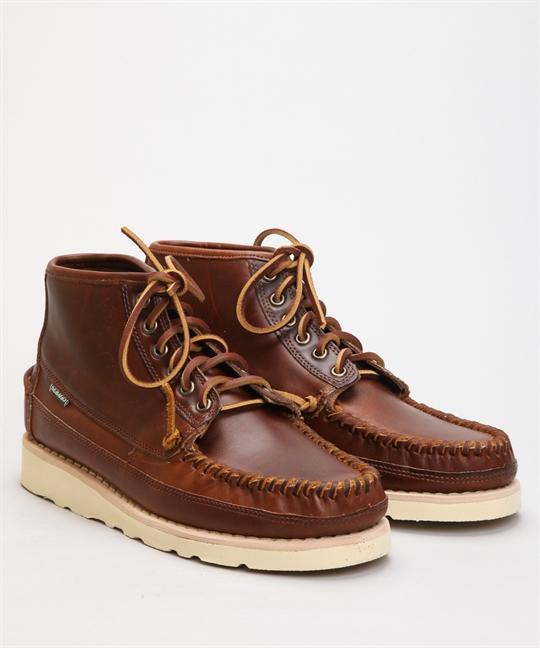 Sebago Campsides Seneca Mid Brown Cinnamon Shoes Shoes