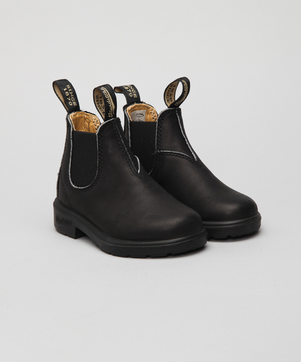 Details about  /Blundstone 531 Kids Unisex Black Leather Boots