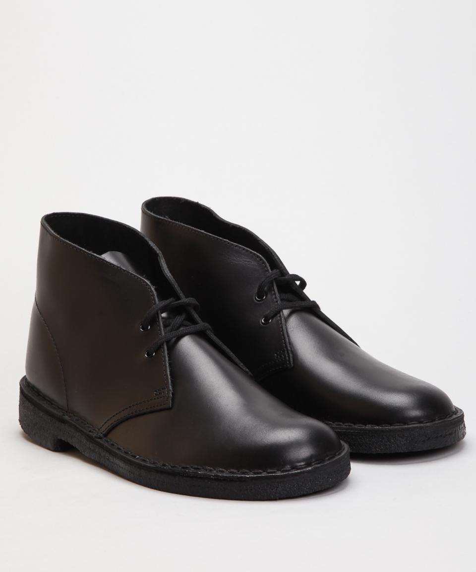 Clarks Originals Desert Boot-Black