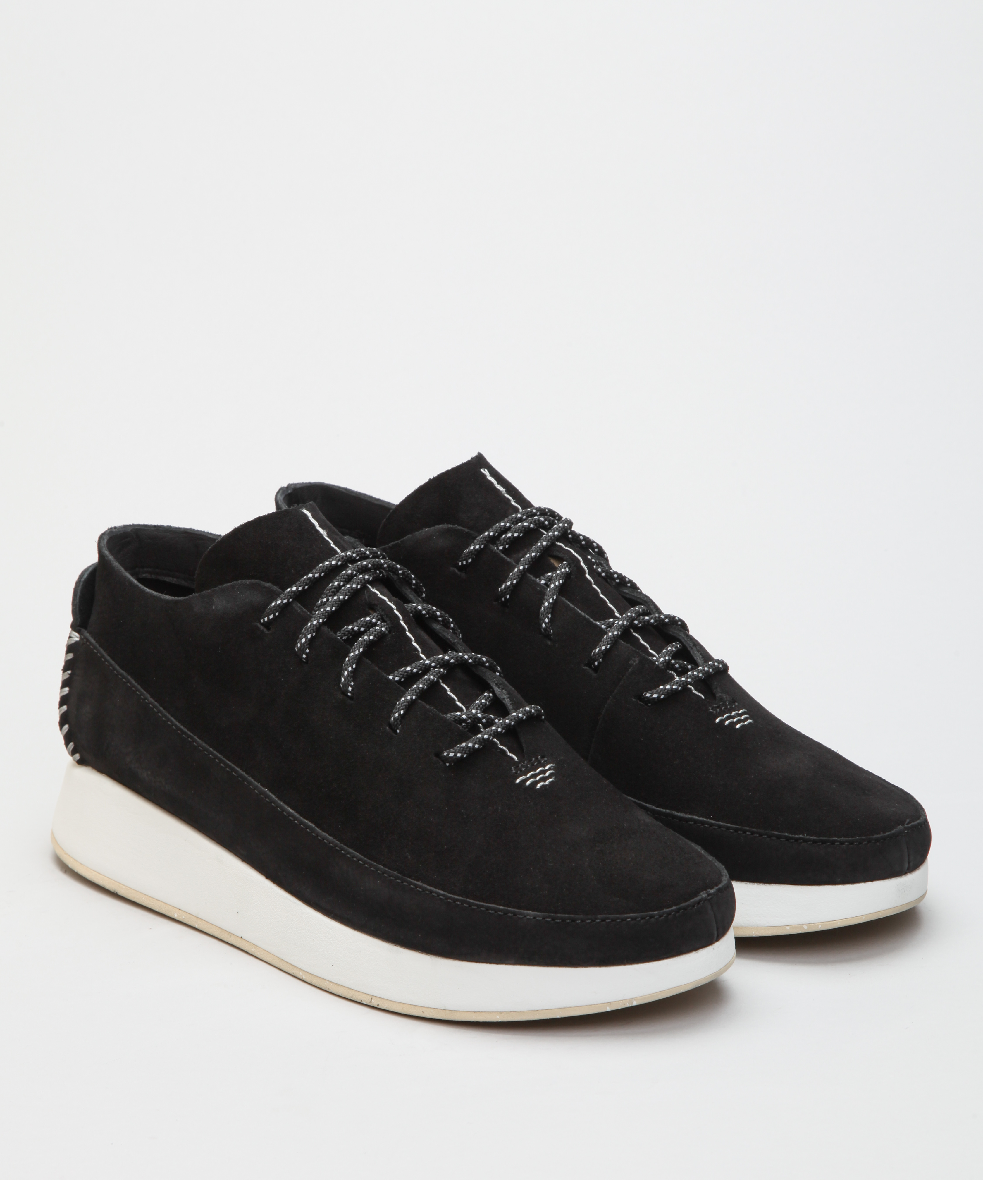 50% | Damskor Clarks Originals Kiowa Sport. Svart | Sneakers