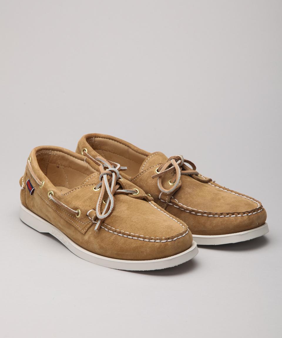 Sebago Dockside Suede Boots