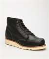 "Red Wing Shoes 6"" Classic Work 3373 Moc Toe-Black"