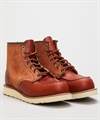 "Red Wing Shoes Red Wing Shoes 6"" Classic Moc 8819-Oro Russet Portage/Oro Russet Abilene"